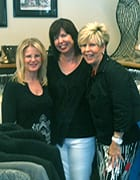 Freidns at Suit Yourself boutique