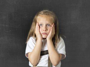 stressed bullying victim