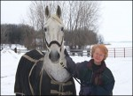 horse and founder of BraveHearts