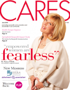 Dr. Nancy featured in cover photo and empowerment article