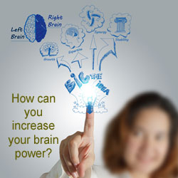 how to increase our brain power